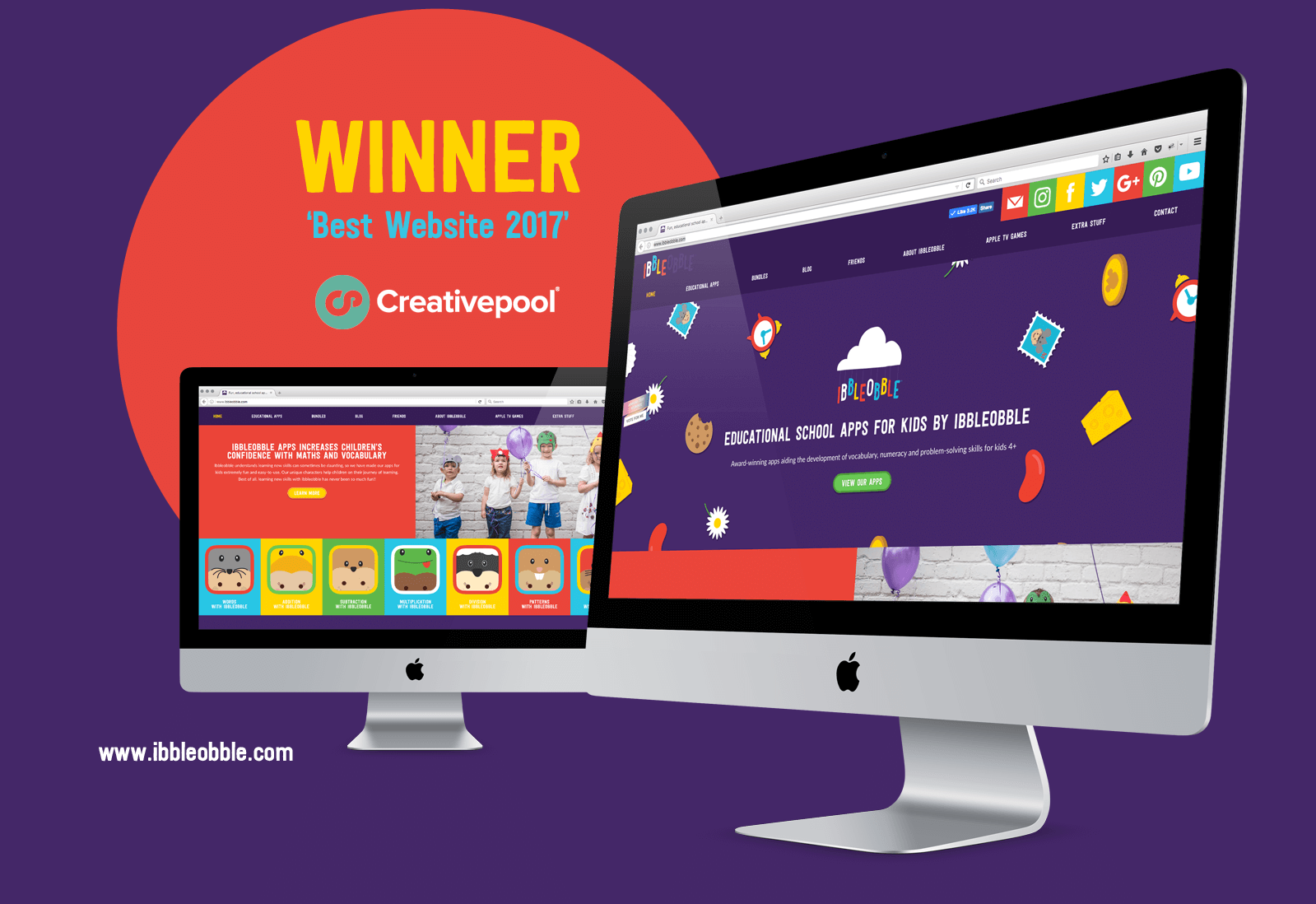 Creativepool 'Best Website' 2017