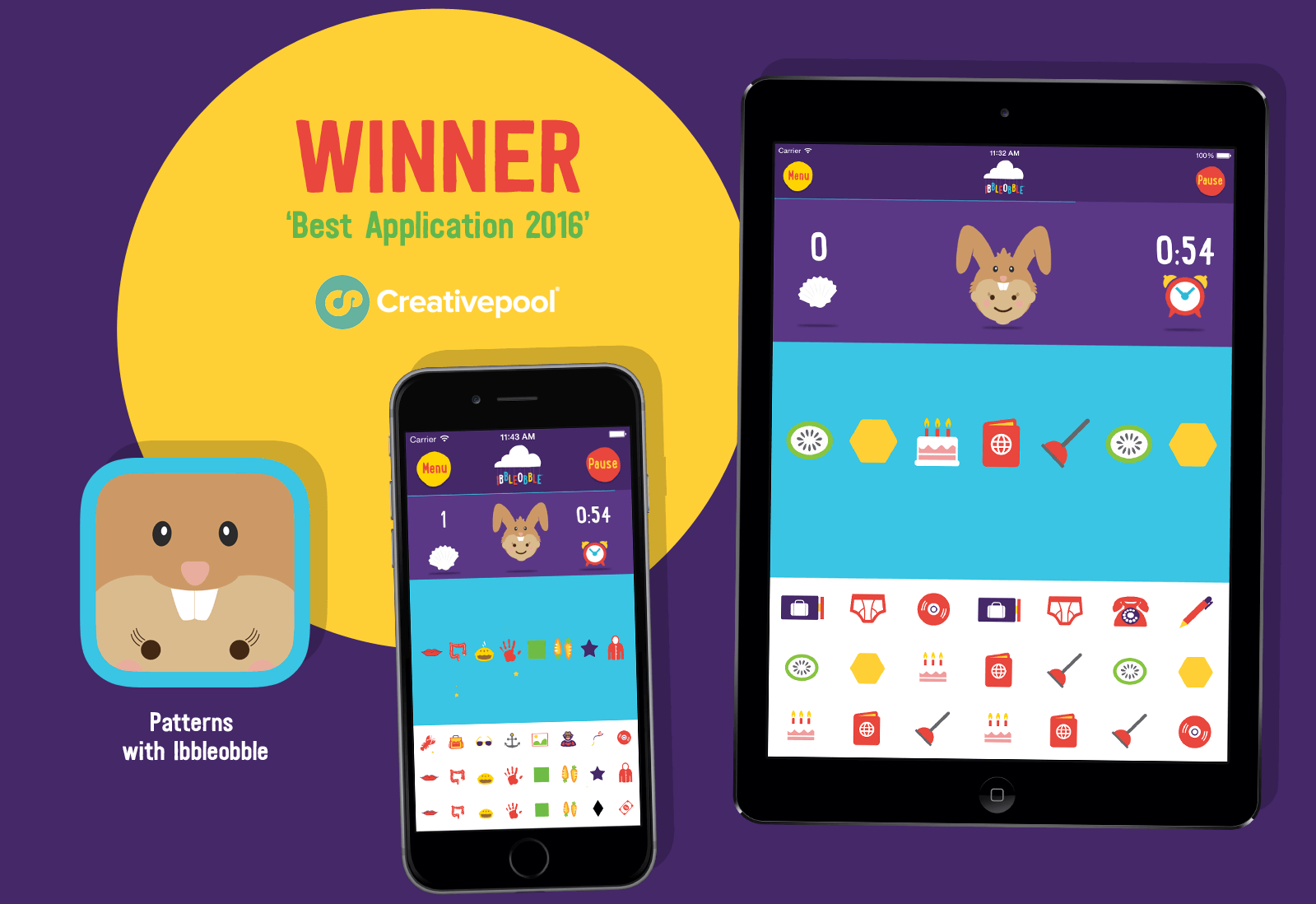 Creativepool 'Best Application' 2016