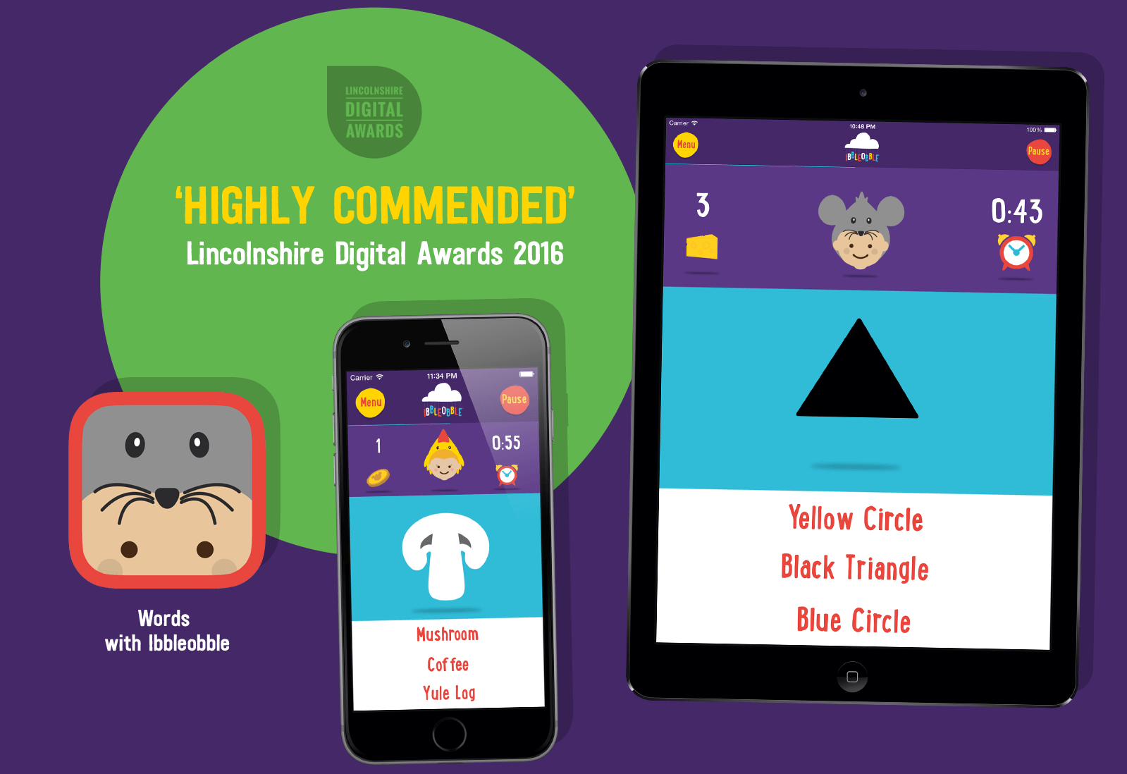 Lincs Digital 'Highly Commended' Application 2016