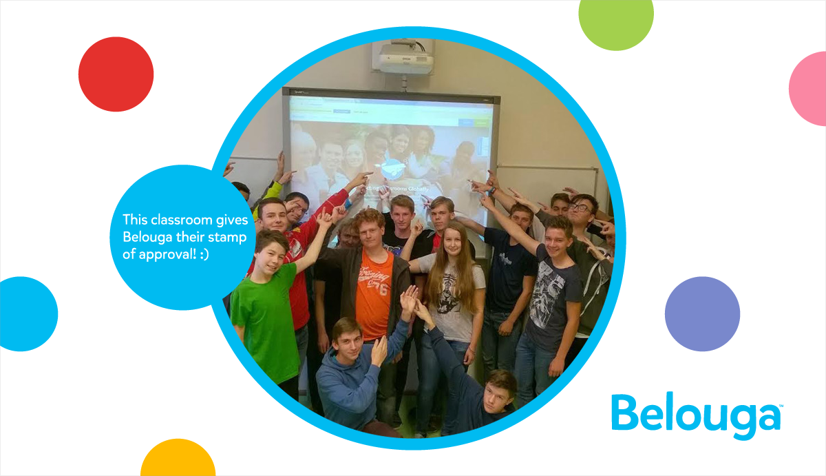 Belouga - Students give Belouga the stamp of a approval