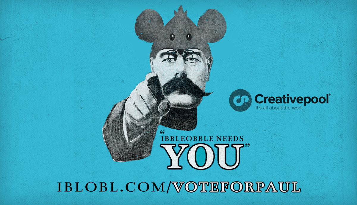Ibbleobble Needs Your Vote | Vote for Paul | Ibbleobble