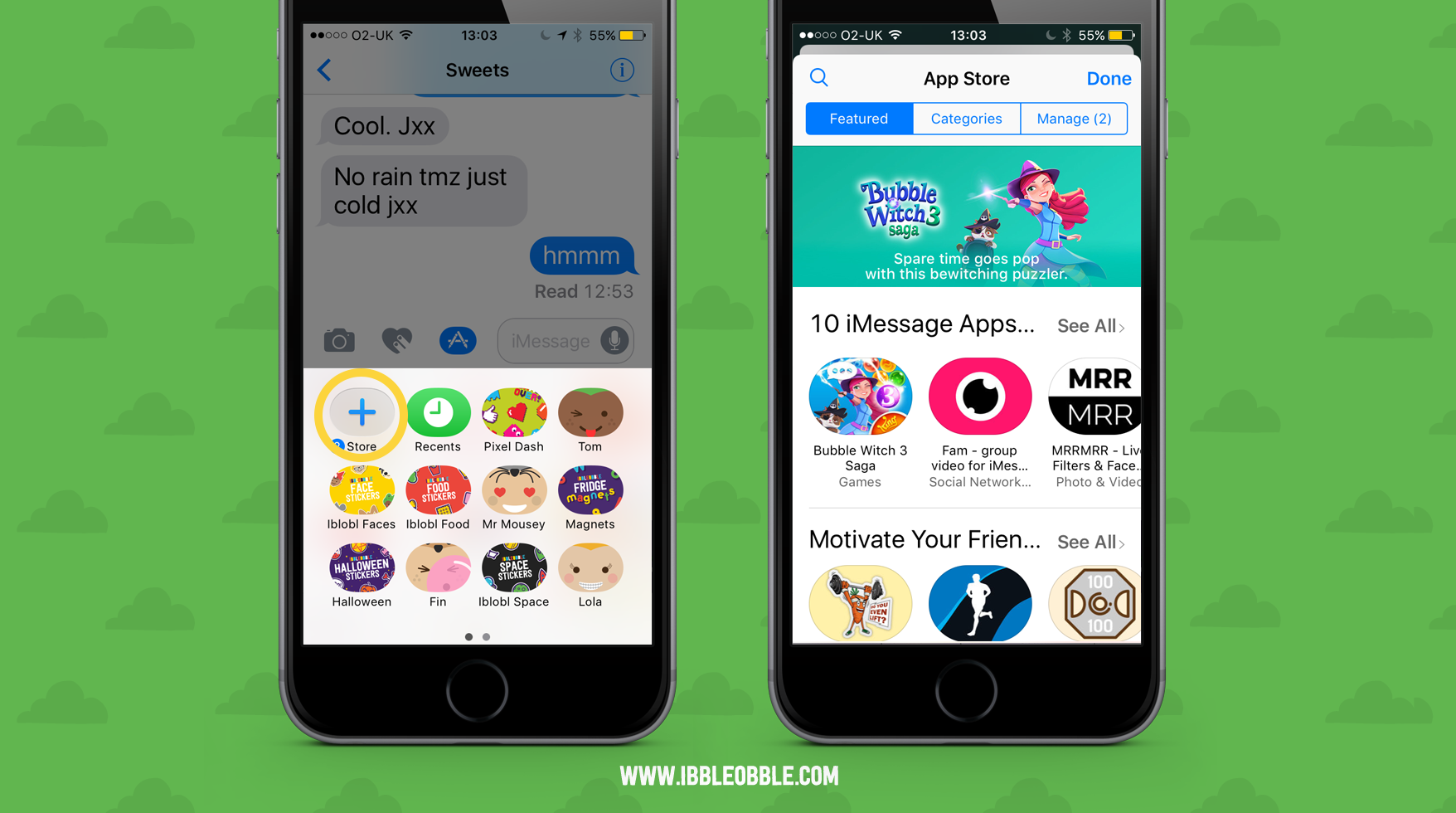 How to buy iMessage stickers from the Appstore
