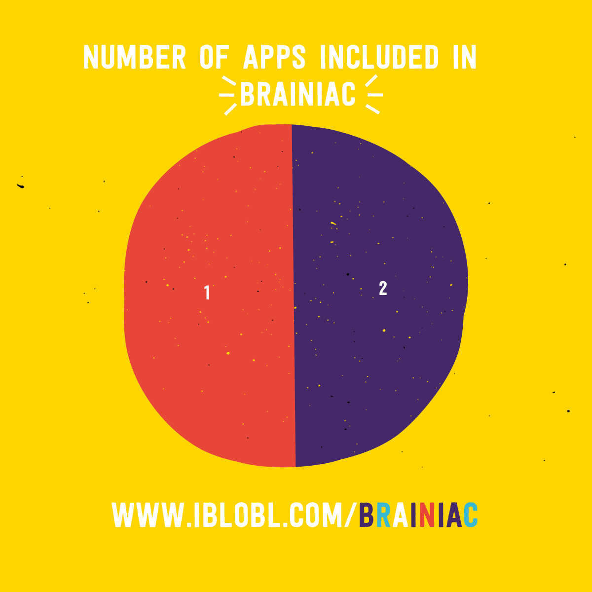 Number of apps in Ibbleobble Brainiac