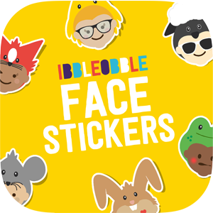 Face stickers for iMessage