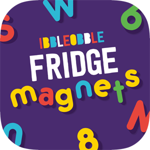 Ibbleobble fridge magnets for iMessage