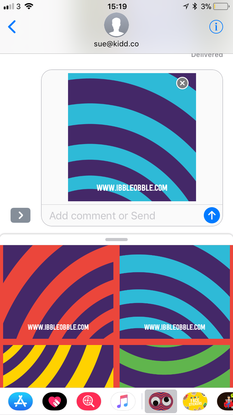 How to use iMessage Stickers correctly - Step 5