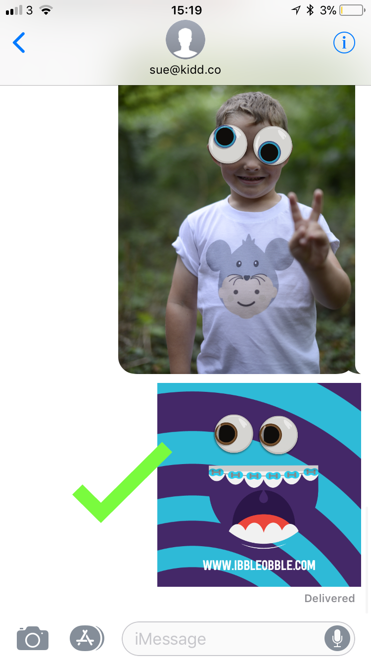 How to use iMessage Stickers correctly - Step 7