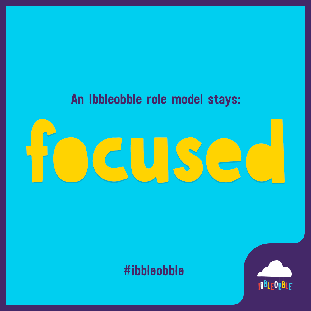 Ibbleobble Role Model - Focus