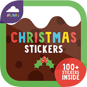 Ibbleobble Christmas Stickers