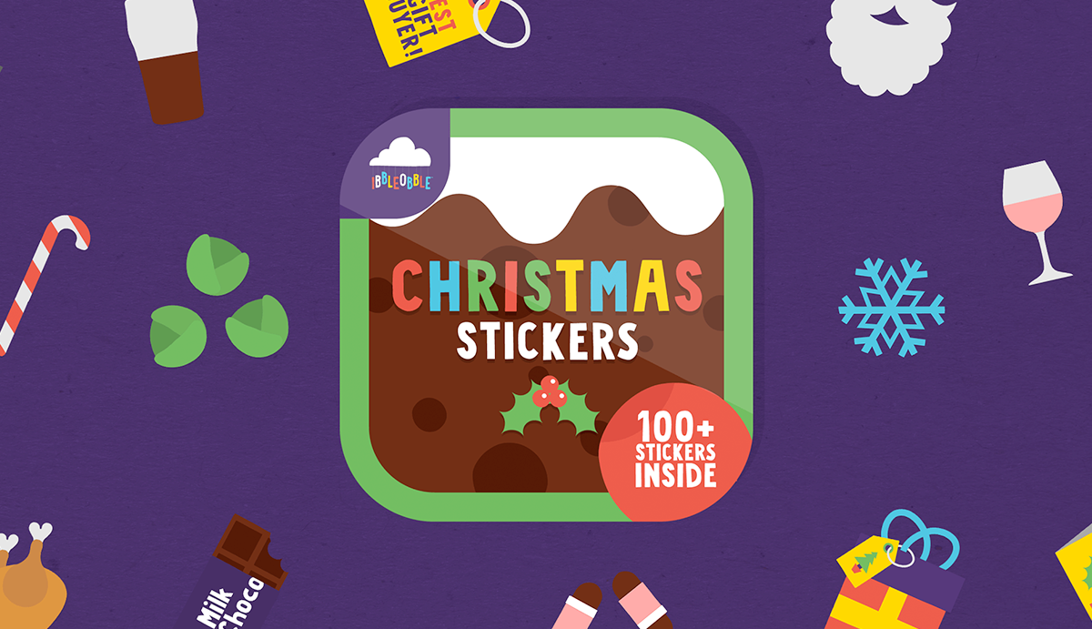 Download Ibbleobble Christmas Stickers