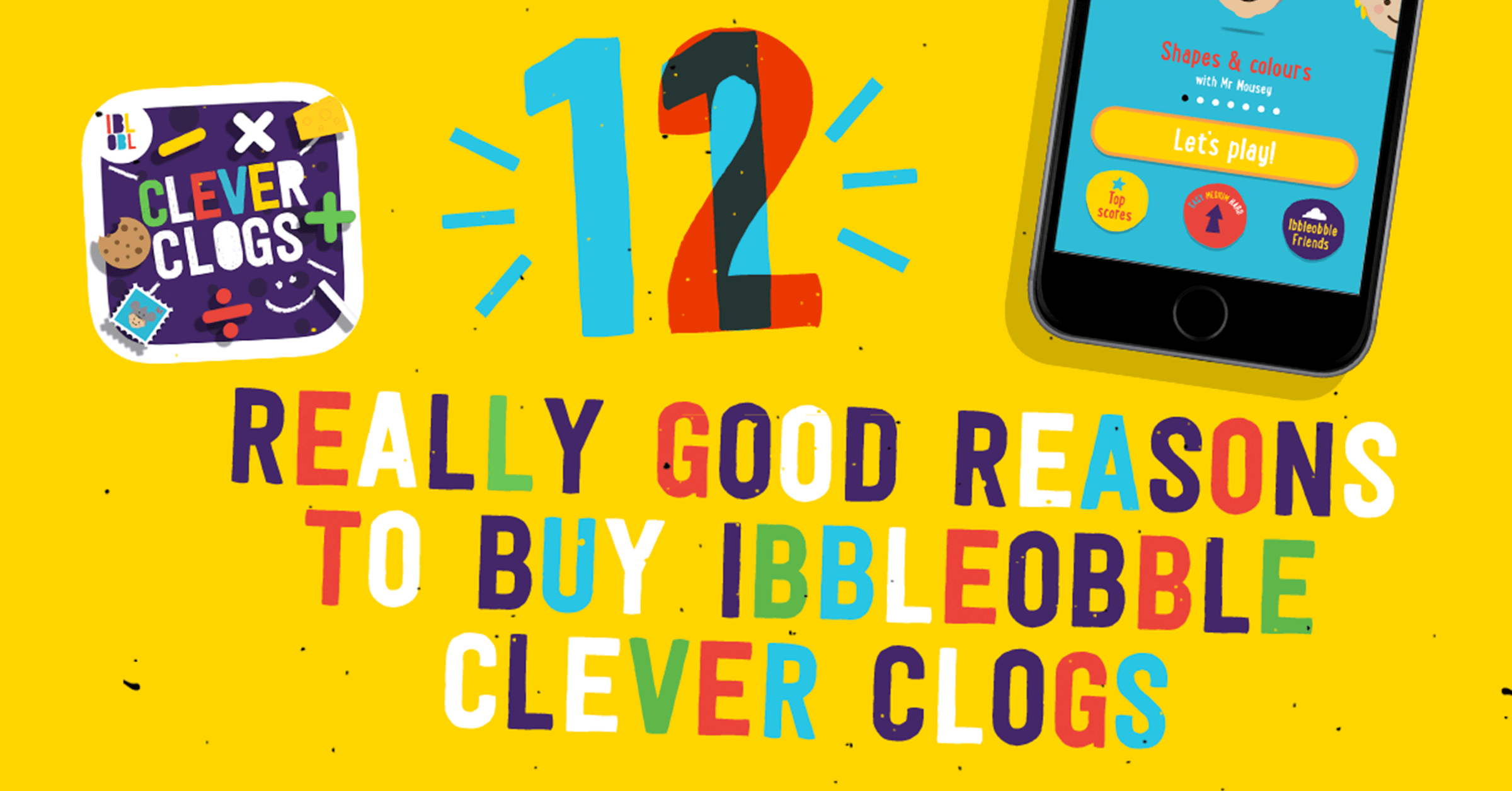 Ibbleobble Clever clogs - a cost-effective educational App bundle for kids