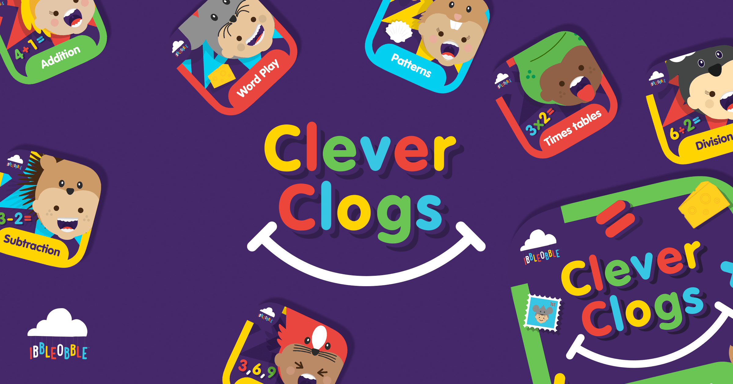 Ibbleobble® Clever clogs