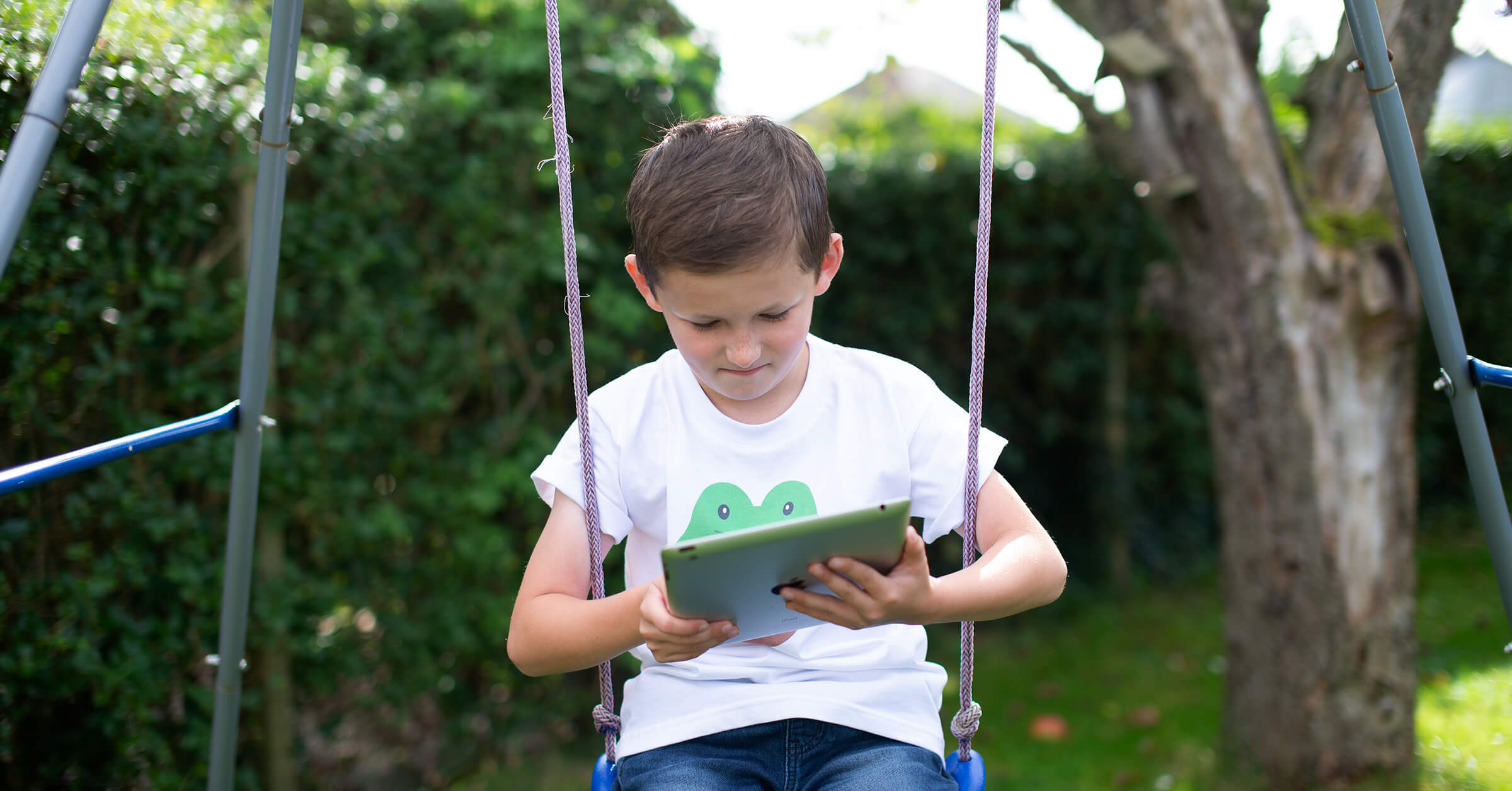 Our bright, friendly, easy-to-use interface is perfect for children