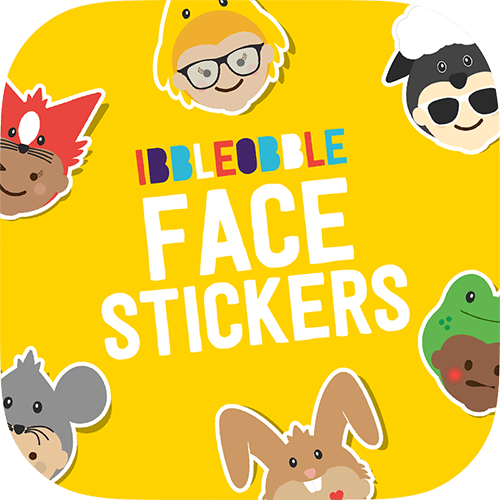 Share the Ibbleobble® love with Faces Stickers for iMessage