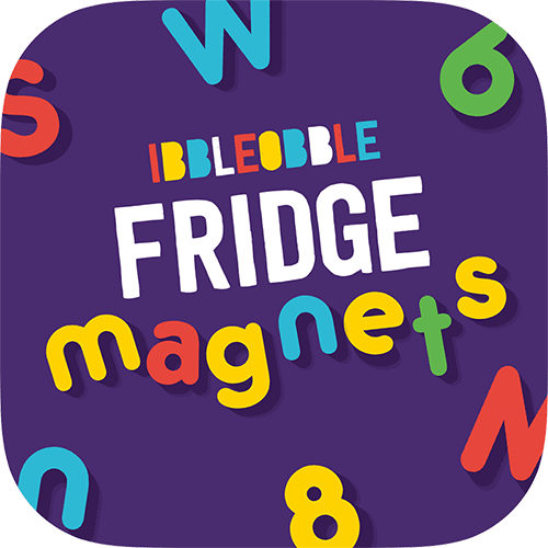 Get creative! Spell fun, bespoke messages with Fridge Magnets Stickers