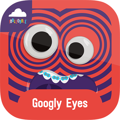 Go eyeball crazy with animated Googly Eyes Stickers for iMessage