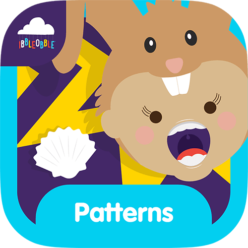 An award-winning picture patterns game