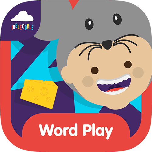 A simple multiple-choice word game for children