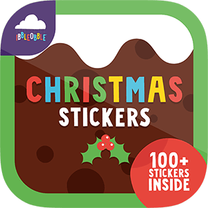 Pack a yuletide punch with festive Ibbleobble® Christmas Stickers for iMessage