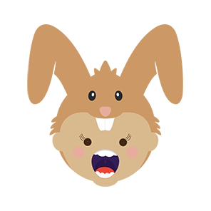 Kelly the rabbit