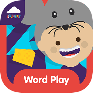 A simple multiple-choice word game for children that helps build confidence with learning new words