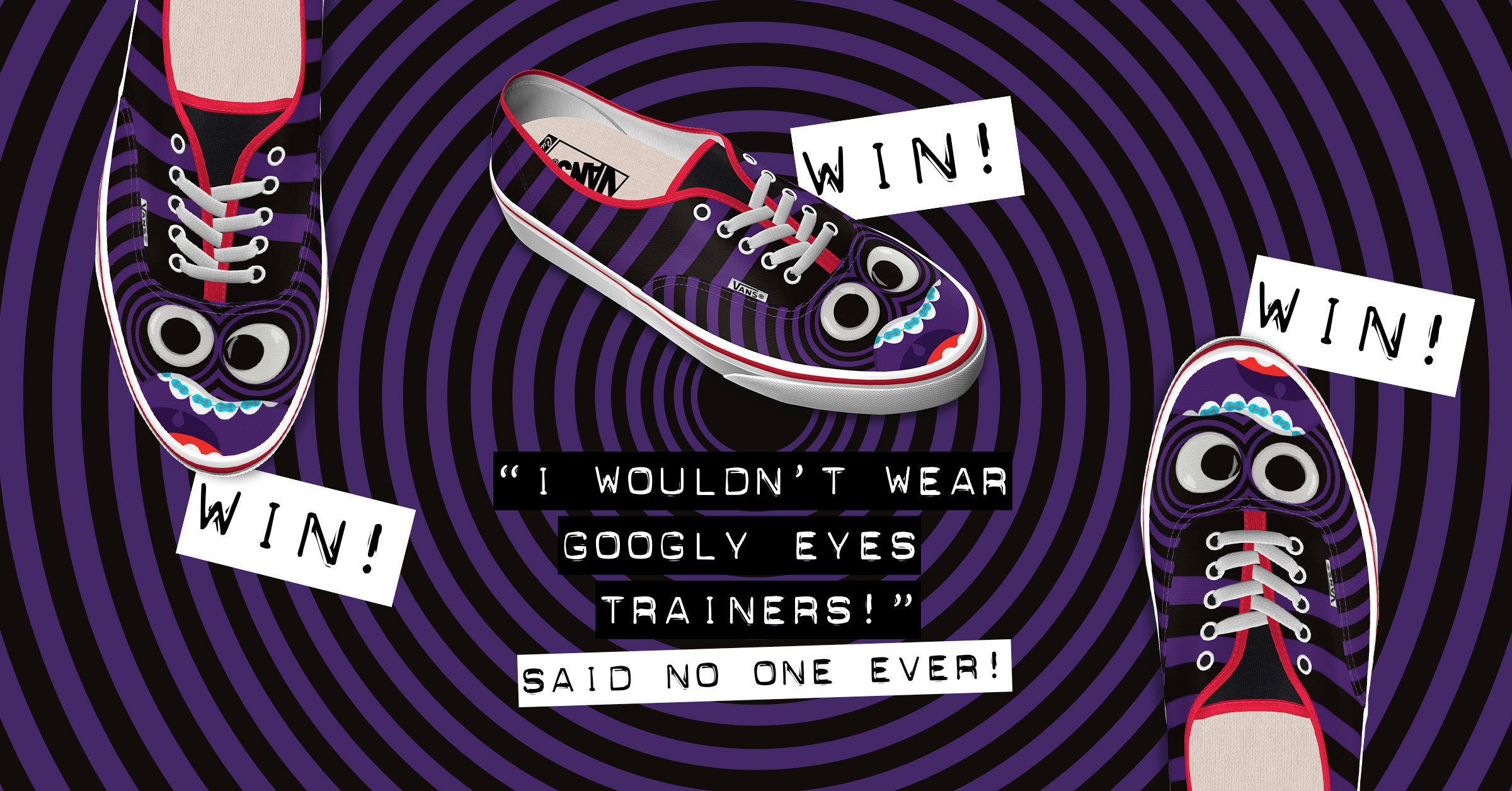 Win Googly Eyes Vans!